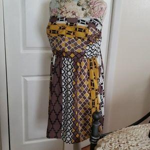 Torrid strapless dress NWT